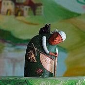 """Для дома и интерьера ручной работы. Ярмарка Мастеров - ручная работа Скульптура """"Баба Яга"""". Handmade."""