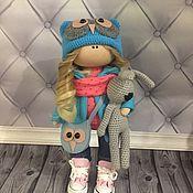 Куклы и пупсы ручной работы. Ярмарка Мастеров - ручная работа Текстильная кукла ручной работы совушка. Handmade.