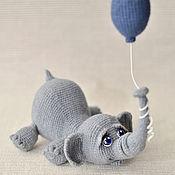 Куклы и игрушки ручной работы. Ярмарка Мастеров - ручная работа Слоняша. Handmade.