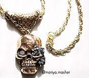 Украшения handmade. Livemaster - original item Necklace in bronze FROM the SEA BOTTOM. Handmade.