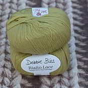 Материалы для творчества handmade. Livemaster - original item Yarn Debbie Bliss Rialto Lace Sitrus. Handmade.