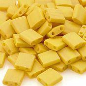 Материалы для творчества ручной работы. Ярмарка Мастеров - ручная работа Миюки ТИЛА 2311 opaque satin matte rich yellow 10гр. Handmade.
