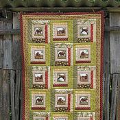 """Для дома и интерьера ручной работы. Ярмарка Мастеров - ручная работа Одеяло детское """" В мягких травах"""". Handmade."""