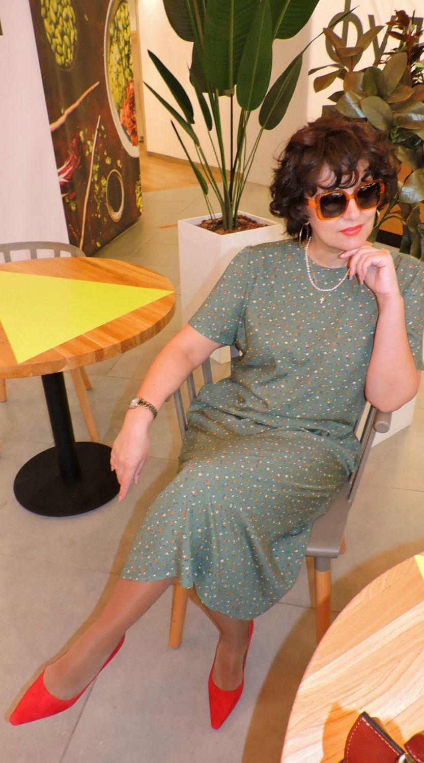 """Платье """" Сицилия"""" в стиле Итальянских женщин, Платья, Москва,  Фото №1"""