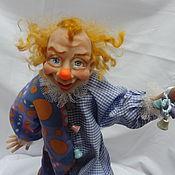 Куклы и игрушки ручной работы. Ярмарка Мастеров - ручная работа кукла Клоун Динь-Динь. Handmade.