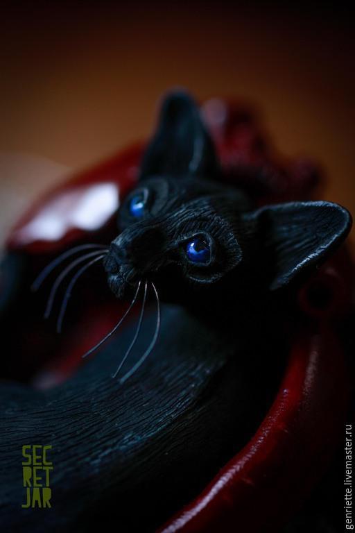 """Кулоны, подвески ручной работы. Ярмарка Мастеров - ручная работа. Купить Подвеска """"Страж ночи"""". Handmade. Черный, подвеска"""