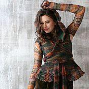 """Одежда ручной работы. Ярмарка Мастеров - ручная работа Жилет """" Forest Song"""" из мериносовой шерсти. Handmade."""
