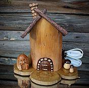 Для дома и интерьера handmade. Livemaster - original item LAMP, NIGHT LIGHT LODGE NO. №1. Handmade.