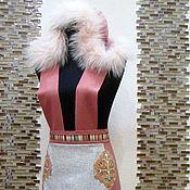 """Одежда ручной работы. Ярмарка Мастеров - ручная работа Авторская юбка-сарафан """"Зимняя акварель"""". Handmade."""