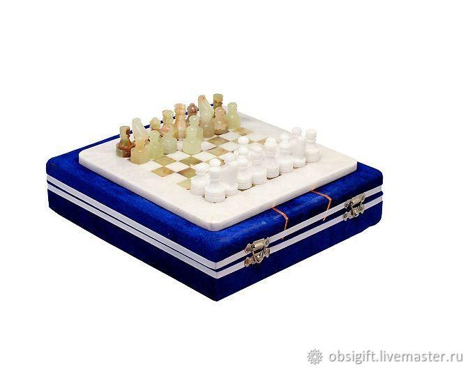 Chess stone Onyx and Marble 20, PakShah, Chess, St. Petersburg,  Фото №1