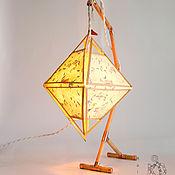 """Ночники ручной работы. Ярмарка Мастеров - ручная работа Ночник Maitre """"Светоч"""",ночник из дерева, настольная лампа. Handmade."""
