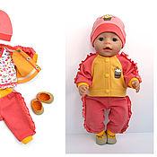 """Одежда для кукол ручной работы. Ярмарка Мастеров - ручная работа Комплект """"Сладость 1"""" для куклы Беби Бон (Baby Born). Handmade."""