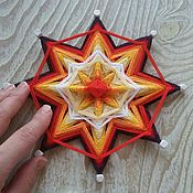 Фен-шуй и эзотерика handmade. Livemaster - original item mandala..Gori - burn.... Handmade.