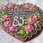 Сувениры и подарки handmade. Livemaster - original item Gingerbread ginger for the anniversary.. Handmade.