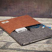 Мужская сумка ручной работы. Ярмарка Мастеров - ручная работа чехол для планшета, ноутбука войлочный мужской. Handmade.