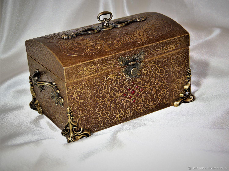 Box chest Golden chest large, Box, Krasnodar,  Фото №1