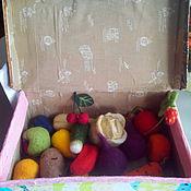 Куклы и игрушки ручной работы. Ярмарка Мастеров - ручная работа Овощи и фрукты. Handmade.