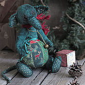Stuffed Toys handmade. Livemaster - original item Tree - mouse-domovska. Handmade.