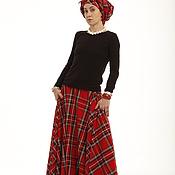 Одежда ручной работы. Ярмарка Мастеров - ручная работа Комплект тюбран + юбка. Handmade.