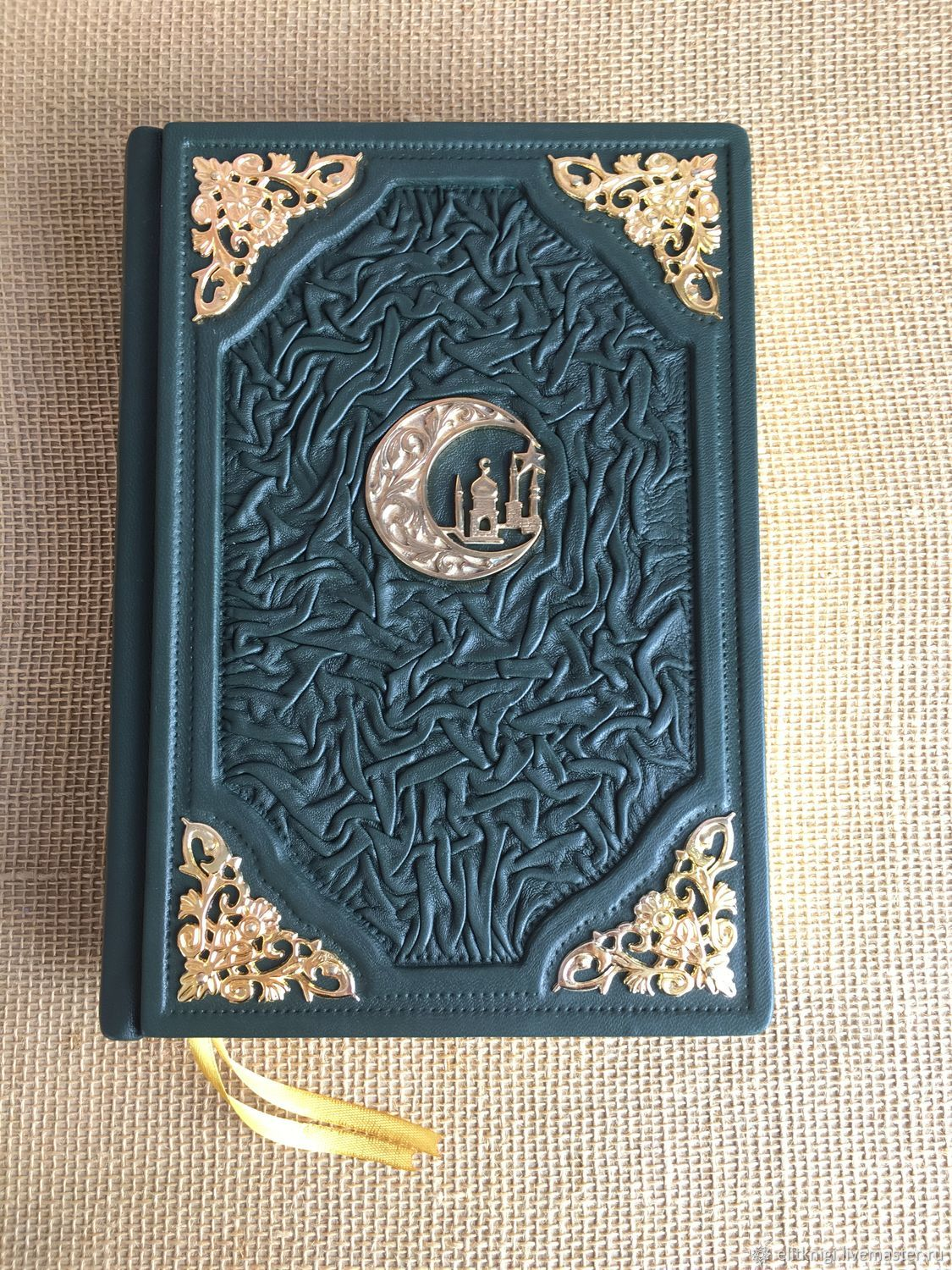 Gift Quran (translated By E. Kuliyev) with a Golden section, Gift books, Moscow,  Фото №1