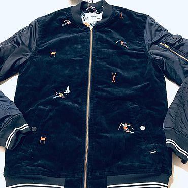 Винтаж ручной работы. Ярмарка Мастеров - ручная работа НОВАЯ куртка, бренд Scotch Soda, Нидерланды, на подростка. Handmade.