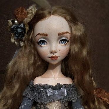 "Dolls & toys handmade. Livemaster - original item Doll ""Lucia"". Handmade."