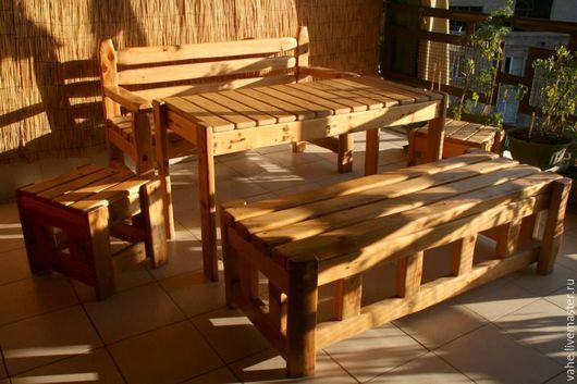 Экстерьер и дача ручной работы. Ярмарка Мастеров - ручная работа. Купить изделия из дерева. Handmade. Дерево, дерево