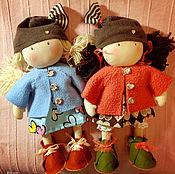 Куклы и игрушки ручной работы. Ярмарка Мастеров - ручная работа текстильная кукла Лучшая подружка. Handmade.
