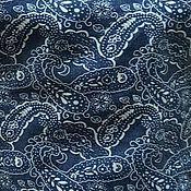 Ткани ручной работы. Ярмарка Мастеров - ручная работа ткань джинс  плательный огурцы  2 вида. Handmade.