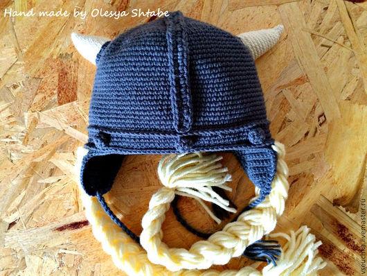 Шапка`шлем Викинга`