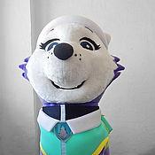 "Дизайн и реклама handmade. Livemaster - original item Everest ""PAW Patrol"". Life-size puppet. Handmade."