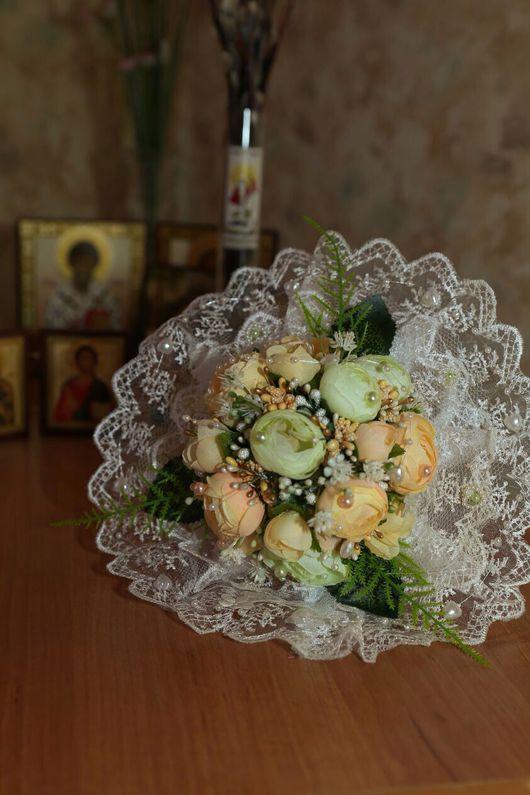 Свадебные цветы ручной работы. Ярмарка Мастеров - ручная работа. Купить Камелия. Handmade. Букет невесты, тычинки для цветов