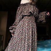 """Одежда ручной работы. Ярмарка Мастеров - ручная работа Платье """"Вечерняя прохлада"""". Handmade."""