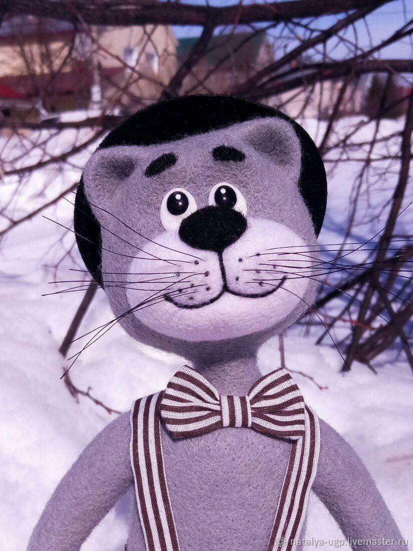 кот романтик, Войлочная игрушка, Барнаул,  Фото №1