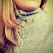 "Одежда ручной работы. Ярмарка Мастеров - ручная работа Вязаная безрукавка ""Избура"". Handmade."