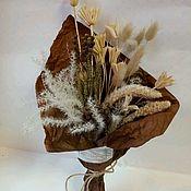 Букеты ручной работы. Ярмарка Мастеров - ручная работа Букет из сухоцветов. Handmade.