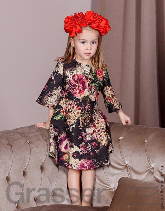 Выкройка платья для девочки,  № 34 Интернет-магазин выкроек GRASSER