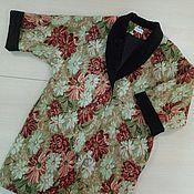 Одежда ручной работы. Ярмарка Мастеров - ручная работа Демисезонное пальто-оверсайз «Гобелен». Handmade.