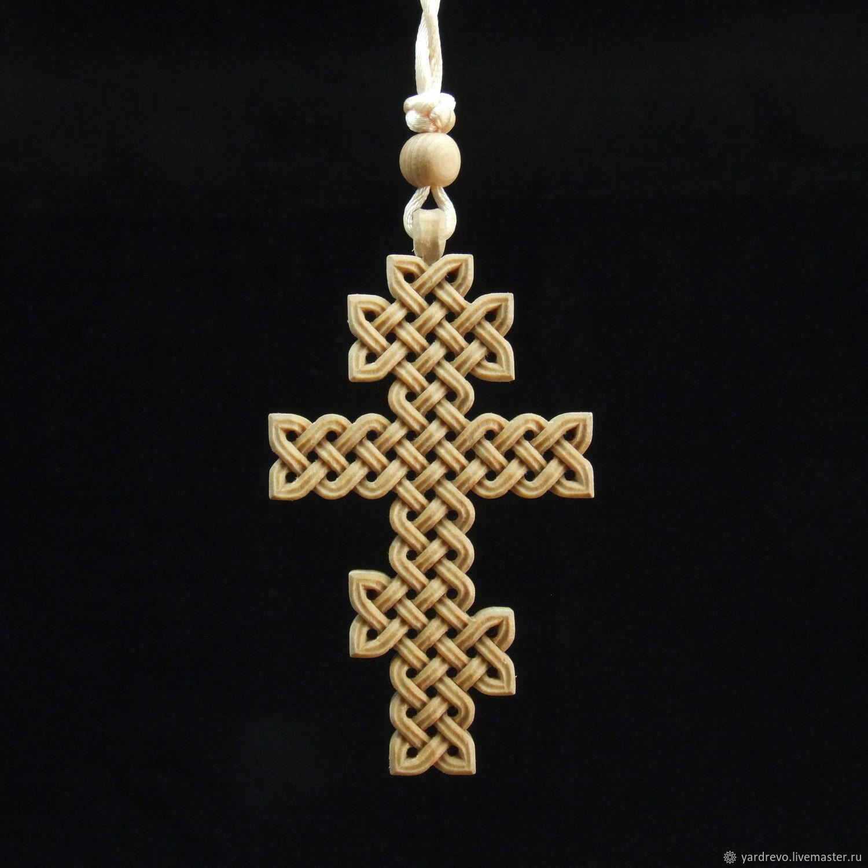 Крест плетеный восмиконечный (береза), Народные сувениры, Шуя,  Фото №1