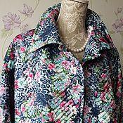 Одежда ручной работы. Ярмарка Мастеров - ручная работа Пальто стёжка. Handmade.