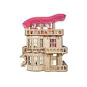 Кукольные домики ручной работы. Ярмарка Мастеров - ручная работа Кукольные домики: Чудо-дом для Барби + 6 комплектов мебели + Подарок. Handmade.