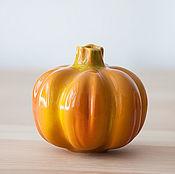 Для дома и интерьера handmade. Livemaster - original item Large ceramic pumpkin. Handmade.