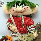 Куклы и игрушки ручной работы. Ярмарка Мастеров - ручная работа Кукла Домовичок Мухоморкин. Handmade.