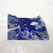 Материалы для творчества handmade. Livemaster - original item Sample of lapis lazuli. Handmade.