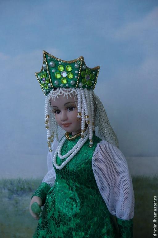 Коллекционные куклы ручной работы. Ярмарка Мастеров - ручная работа. Купить Хозяйка Медной горы. Handmade. Каменный цветок, волшебство