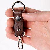 Сумки и аксессуары handmade. Livemaster - original item Key holder on the belt. Housekeeper with carabiner and ring. Handmade.