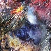 Картины и панно ручной работы. Ярмарка Мастеров - ручная работа Взрыв Квазара. Handmade.