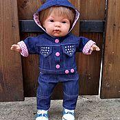 Одежда для кукол ручной работы. Ярмарка Мастеров - ручная работа Костюм для пупса. Handmade.