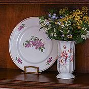 Винтаж handmade. Livemaster - original item Vase porcelain. Handmade.