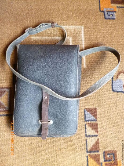 Винтажные сумки и кошельки. Ярмарка Мастеров - ручная работа. Купить Планшет. Handmade. Темно-серый, находка